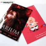 Gloss laminate postcards