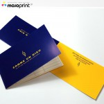 Glossy shop cards