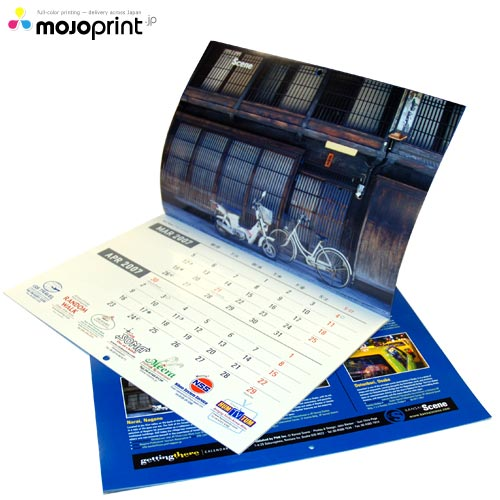 calendars. Wall calendars