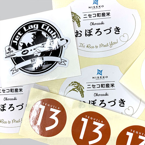Outdoor PVC stickers
