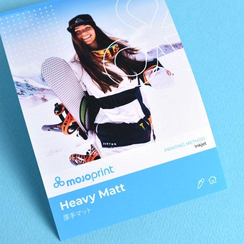 Heavy Matt Inkjet Poster