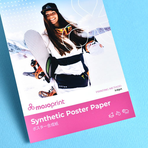 (Outdoor) Synthetic poster paper