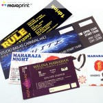 Uncoated tickets